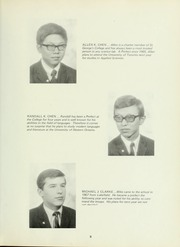 Page 13, 1969 Edition, Royal St Georges College - Georgian Yearbook (Toronto, Ontario Canada) online yearbook collection