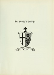 Page 5, 1969 Edition, Royal St Georges College - Georgian Yearbook (Toronto, Ontario Canada) online yearbook collection