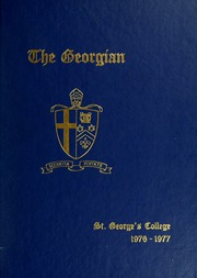 Page 1, 1977 Edition, Royal St Georges College - Georgian Yearbook (Toronto, Ontario Canada) online yearbook collection