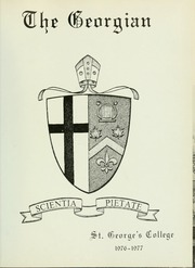 Page 5, 1977 Edition, Royal St Georges College - Georgian Yearbook (Toronto, Ontario Canada) online yearbook collection