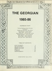 Page 5, 1986 Edition, Royal St Georges College - Georgian Yearbook (Toronto, Ontario Canada) online yearbook collection