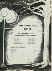 Page 5, 1988 Edition, Royal St Georges College - Georgian Yearbook (Toronto, Ontario Canada) online yearbook collection