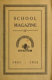 Selwyn House School - Yearbook (Montreal, Quebec Canada) online yearbook collection, 1932 Edition, Page 1