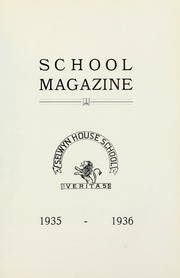 Selwyn House School - Yearbook (Montreal, Quebec Canada) online yearbook collection, 1936 Edition, Page 1