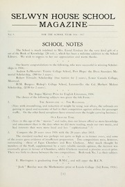 Page 5, 1937 Edition, Selwyn House School - Yearbook (Montreal, Quebec Canada) online yearbook collection
