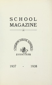 Page 1, 1938 Edition, Selwyn House School - Yearbook (Montreal, Quebec Canada) online yearbook collection