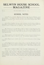 Page 5, 1938 Edition, Selwyn House School - Yearbook (Montreal, Quebec Canada) online yearbook collection