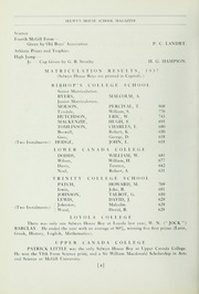 Page 8, 1938 Edition, Selwyn House School - Yearbook (Montreal, Quebec Canada) online yearbook collection