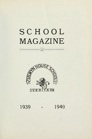 Page 1, 1940 Edition, Selwyn House School - Yearbook (Montreal, Quebec Canada) online yearbook collection