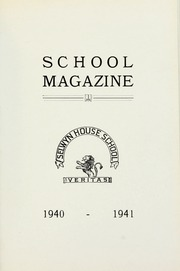 Page 1, 1941 Edition, Selwyn House School - Yearbook (Montreal, Quebec Canada) online yearbook collection