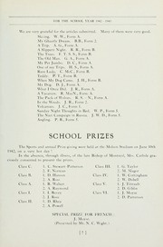 Page 9, 1943 Edition, Selwyn House School - Yearbook (Montreal, Quebec Canada) online yearbook collection