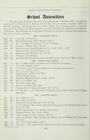 Page 14, 1947 Edition, Selwyn House School - Yearbook (Montreal, Quebec Canada) online yearbook collection