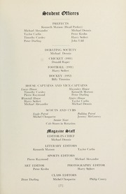 Page 7, 1952 Edition, Selwyn House School - Yearbook (Montreal, Quebec Canada) online yearbook collection