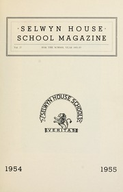 Page 3, 1955 Edition, Selwyn House School - Yearbook (Montreal, Quebec Canada) online yearbook collection