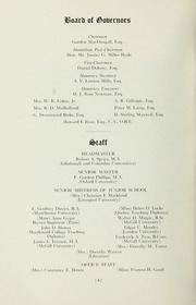 Page 6, 1955 Edition, Selwyn House School - Yearbook (Montreal, Quebec Canada) online yearbook collection