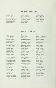 Page 12, 1963 Edition, Selwyn House School - Yearbook (Montreal, Quebec Canada) online yearbook collection