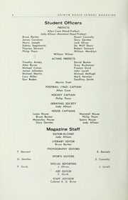 Page 10, 1966 Edition, Selwyn House School - Yearbook (Montreal, Quebec Canada) online yearbook collection