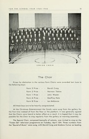 Page 15, 1966 Edition, Selwyn House School - Yearbook (Montreal, Quebec Canada) online yearbook collection