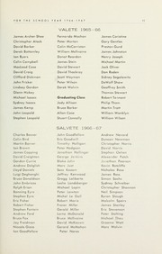 Page 13, 1967 Edition, Selwyn House School - Yearbook (Montreal, Quebec Canada) online yearbook collection