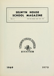 Page 7, 1970 Edition, Selwyn House School - Yearbook (Montreal, Quebec Canada) online yearbook collection
