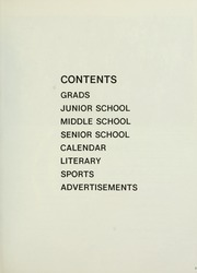 Page 7, 1977 Edition, Selwyn House School - Yearbook (Montreal, Quebec Canada) online yearbook collection