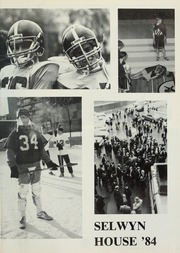 Page 5, 1984 Edition, Selwyn House School - Yearbook (Montreal, Quebec Canada) online yearbook collection