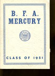 1951 Edition, Bellows Free Academy - Alpha Omega Yearbook (St Albans, VT)