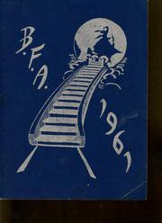 1961 Edition, Bellows Free Academy - Alpha Omega Yearbook (St Albans, VT)