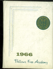 1966 Edition, Bellows Free Academy - Alpha Omega Yearbook (St Albans, VT)