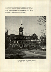 Page 14, 1949 Edition, Dalhousie University - Pharos Yearbook (Halifax, Nova Scotia Canada) online yearbook collection