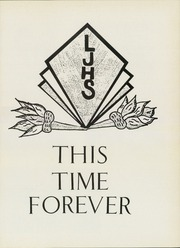 Page 5, 1984 Edition, Lorne Jenken High School - This Time Forever Yearbook (Barrhead, Alberta Canada) online yearbook collection
