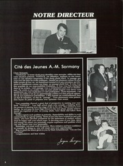 Page 12, 1987 Edition, Cite Des Jeunes A M Sormany High School - Passage Yearbook (Edmundston, New Bruswick Canada) online yearbook collection