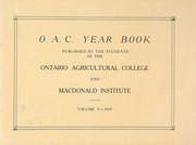 Page 7, 1919 Edition, Ontario Agricultural College - OAC Bulletin Yearbook (Guelph, Ontario Canada) online yearbook collection