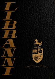1969 Edition, University of Guelph - Libranni Yearbook (Guelph, Ontario Canada)