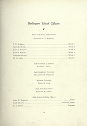 Page 13, 1922 Edition, Burlington High School - Oread Yearbook (Burlington, VT) online yearbook collection