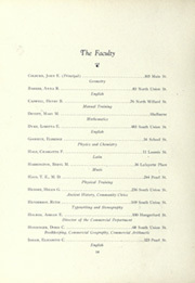 Page 16, 1922 Edition, Burlington High School - Oread Yearbook (Burlington, VT) online yearbook collection
