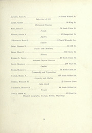 Page 17, 1922 Edition, Burlington High School - Oread Yearbook (Burlington, VT) online yearbook collection