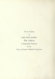 Page 8, 1922 Edition, Burlington High School - Oread Yearbook (Burlington, VT) online yearbook collection