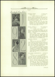 Page 10, 1928 Edition, Burlington High School - Oread Yearbook (Burlington, VT) online yearbook collection
