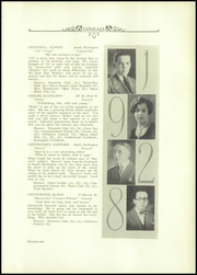 Page 13, 1928 Edition, Burlington High School - Oread Yearbook (Burlington, VT) online yearbook collection