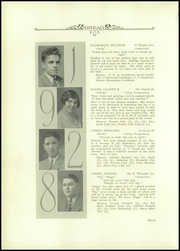 Page 14, 1928 Edition, Burlington High School - Oread Yearbook (Burlington, VT) online yearbook collection