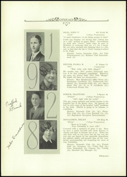 Page 16, 1928 Edition, Burlington High School - Oread Yearbook (Burlington, VT) online yearbook collection