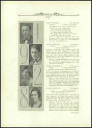 Page 8, 1928 Edition, Burlington High School - Oread Yearbook (Burlington, VT) online yearbook collection