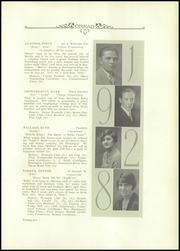 Page 9, 1928 Edition, Burlington High School - Oread Yearbook (Burlington, VT) online yearbook collection