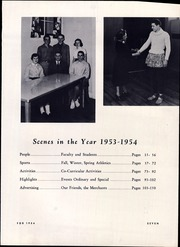 Page 11, 1954 Edition, Burlington High School - Oread Yearbook (Burlington, VT) online yearbook collection