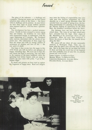 Page 6, 1958 Edition, Burlington High School - Oread Yearbook (Burlington, VT) online yearbook collection