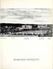 Page 11, 1942 Edition, McMaster University - Marmor Yearbook (Hamilton, Ontario Canada) online yearbook collection