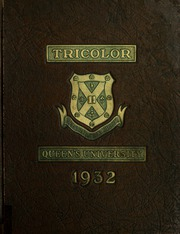Page 1, 1932 Edition, Queens University - Tricolour Yearbook (Kingston, Ontario Canada) online yearbook collection