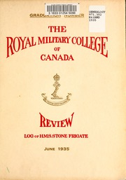 Page 5, 1935 Edition, Royal Military College of Canada - Review Yearbook (Kingston, Ontario Canada) online yearbook collection