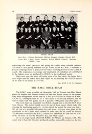 Page 136, 1957 Edition, Royal Military College of Canada - Review Yearbook (Kingston, Ontario Canada) online yearbook collection
